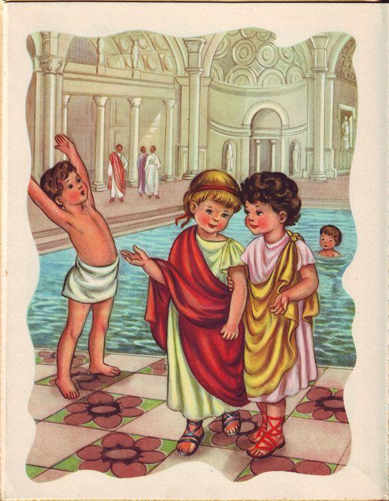 chlidren in ancient rome - photo#1