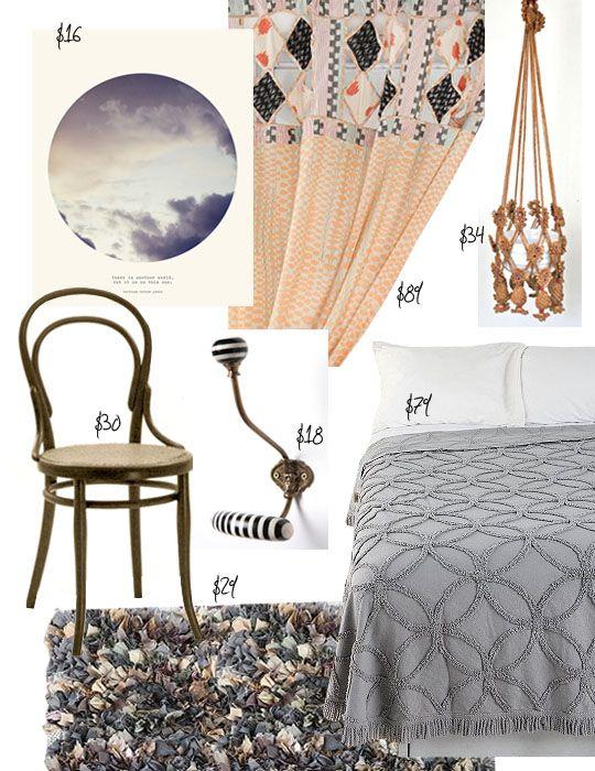 Dorm Style: La Vie Boheme for Under $300