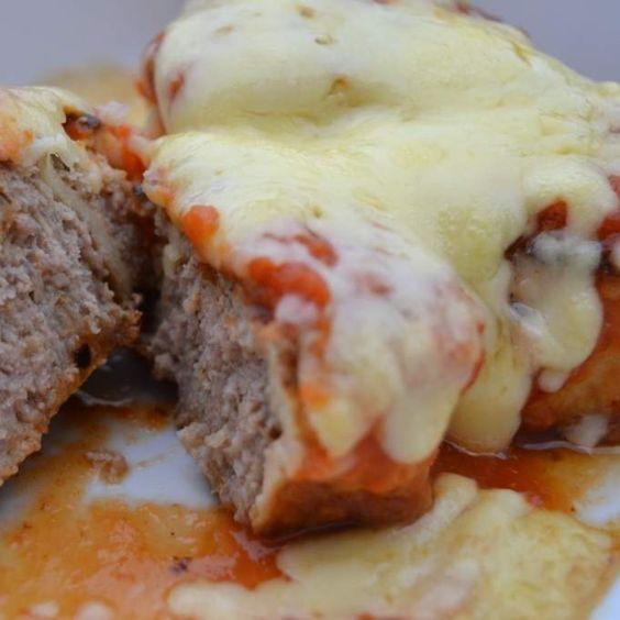Rezept Auflauf von Frikadellen in Pfannkuchenteig von Danis treue Küchenfee - Rezept der Kategorie Hauptgerichte mit Fleisch