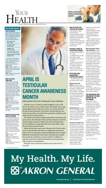 Your Health Section - April 13, 2013