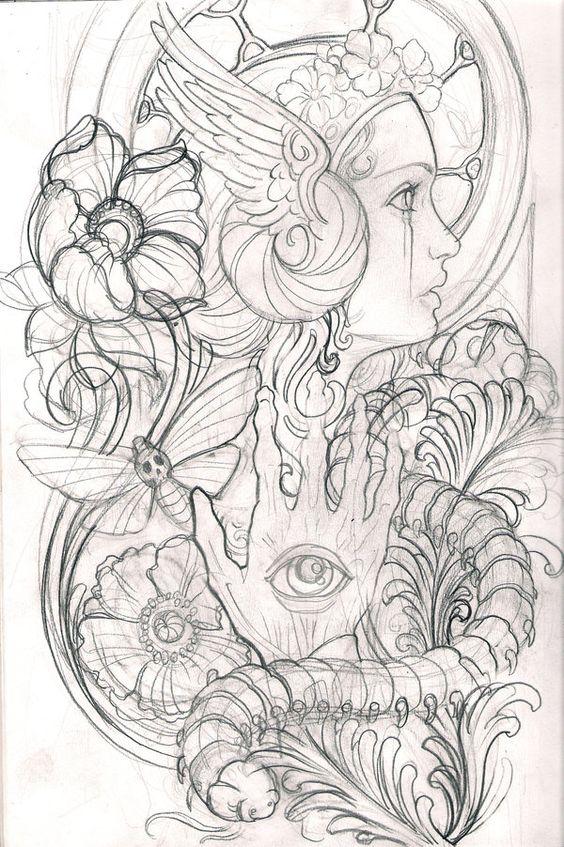 sketch by ~mojoncio on deviantART