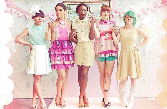 Cookie Ann SS 2012 #pastel