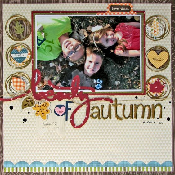 Layout: Beauty of Autumn