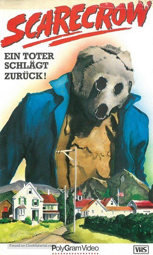 Dark Night Of The Scarecrow 1981 Horror Movie Art Horror Posters Scarecrow