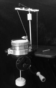Erlbacher Gearhart circular sock machine.  I WANT