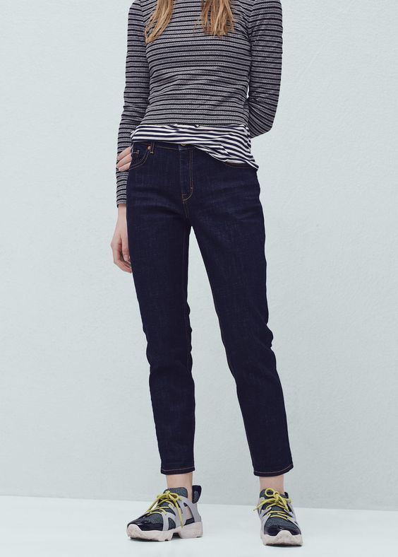 Relaxed 7/8-Jeans Nancy