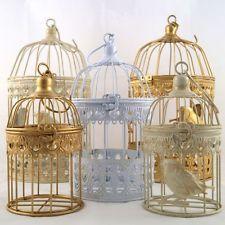 Deko Metall Vogelkäfig diverse Farben und Größen