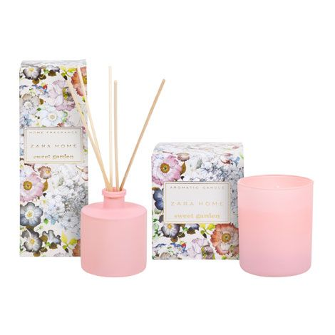 spring fragance ambientadores sweet garden zara home espa a lookbooks ss14 pinterest. Black Bedroom Furniture Sets. Home Design Ideas