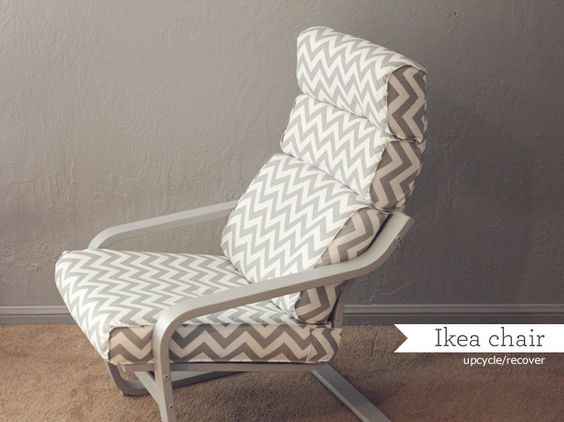 poang chair cover tutorial | sewing | Pinterest | Ikea, Chairs and