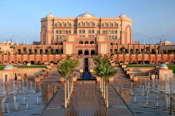 Emirates Palace Hotel, Abu Dhabi. Best of the Middle East 2014.