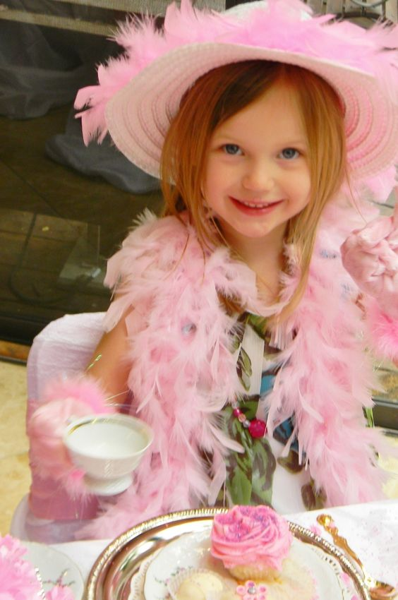 A Real Tea Party...I Love Nanny !: