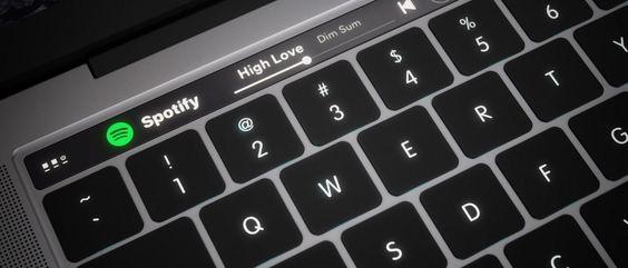 MacBook Pro pode vir a receber barra OLED tátil