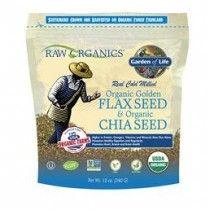Garden of Life Organic Golden Flaxseed & Chia Seed 12oz