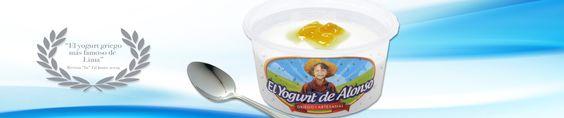El Yogurt de Alonso, yogurt griego. Slider 1.