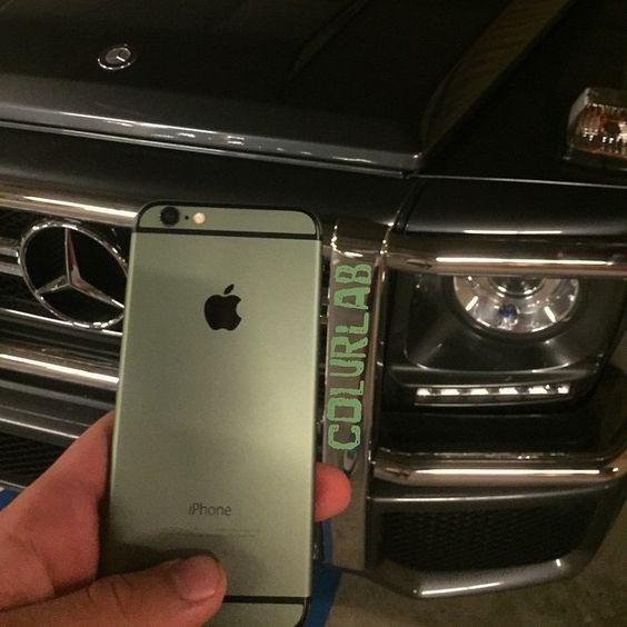 Army Green iPhone 6   Custom Color iPhone