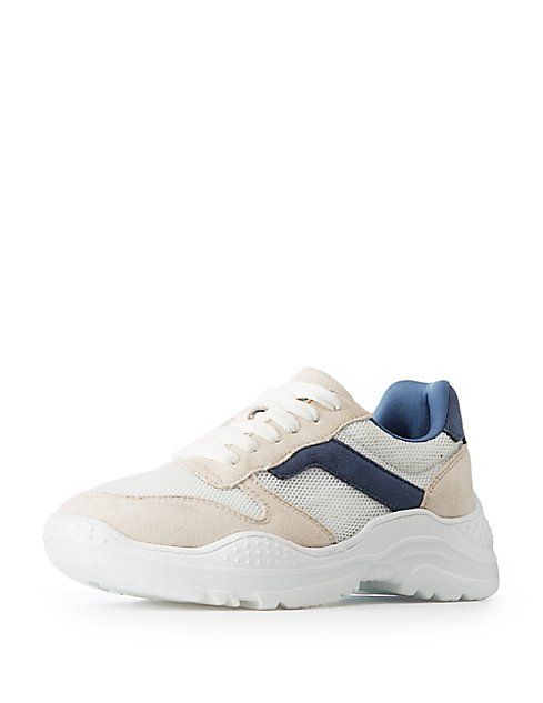 Qupid Colorblock Chunky Sneakers