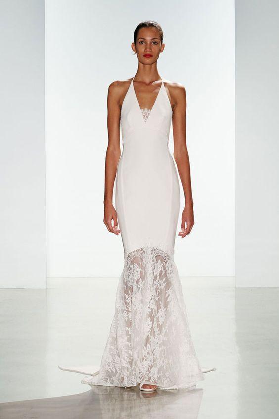 Abito Nuziale Sirena 2017 Collezione Bridal Amsale Nouvelle