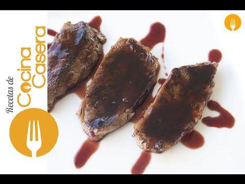 Ternera Marinada en Salsa de Vino | Recetas de Cocina Casera - Recetas fáciles y sencillas