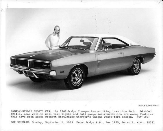 THE u002766 DODGE CHARGER Viejitos y Clasicos - vehicle release form
