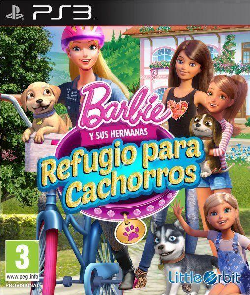 Juegos De Barbie Y Sus Hermanas Refugio Para Cachorros Barbie Puppy Rescue Barbie Puppy Barbie And Her Sisters