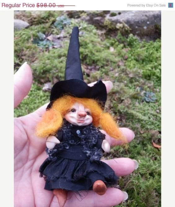HOLIDAYS 20OFF.SALE Ooak Miniature little magic by ArtistaToscana, $78.40