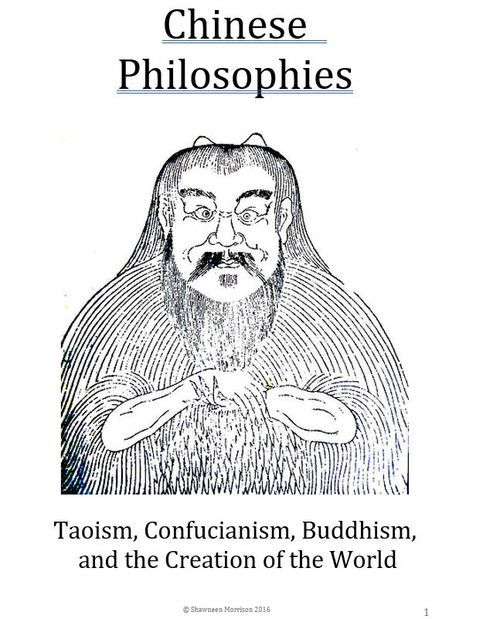 Chinese Culture Taoism Confucianism Buddhism And The Creation Of The World World History Classroom History Travel History Activities