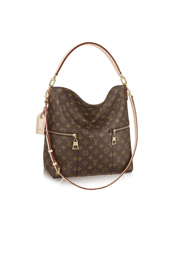 Mélie by Louis Vuitton: The perfect handbag to earn extra style points. The iconic monogram paired with its hobo shape makes this a must have for the fashion forward person in your life.