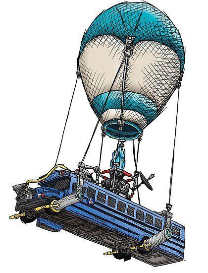 Compra Dibujo De Autobus De Fortnite Version Coloreada De
