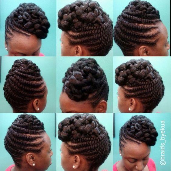 Fabulous Updo Flats And Flat Twist Updo On Pinterest Hairstyle Inspiration Daily Dogsangcom