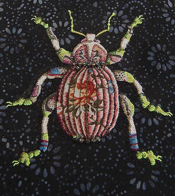 Textile works by Zara Merrick. Lustik: twitter | pinterest | etsy: