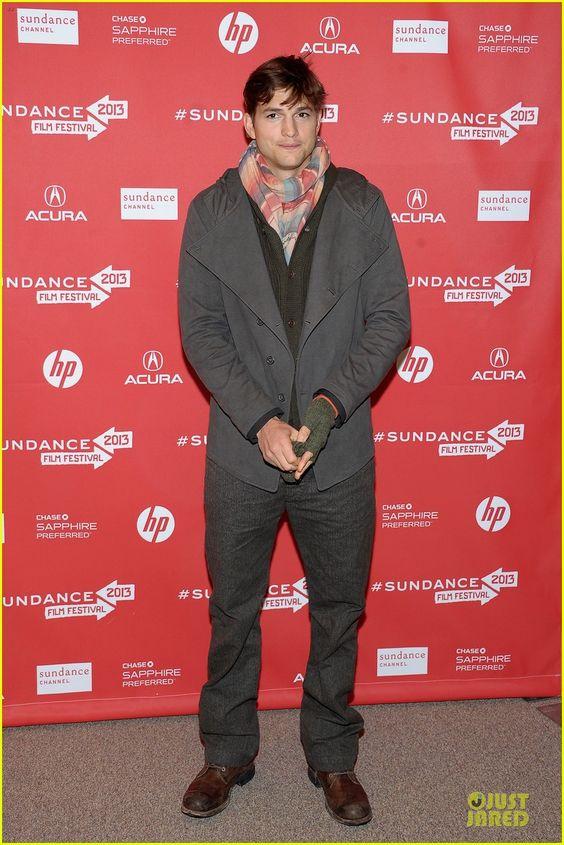 Celeb Diary: Ashton Kutcher @ 2013 Sundance Film Festival (FOTO + VIDEO)