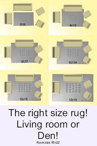 リビング ラグ サイズ イメージ