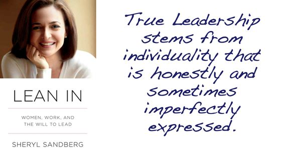 True Leadership... outstanding insight.