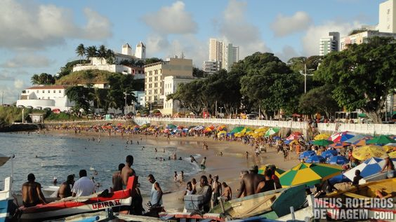 Praia do Porto da Barra -Salvador, Bahia