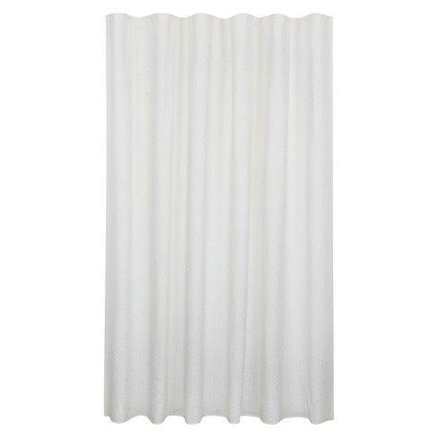 Bubble Texture Natural Shower Curtain White Fieldcrest Target
