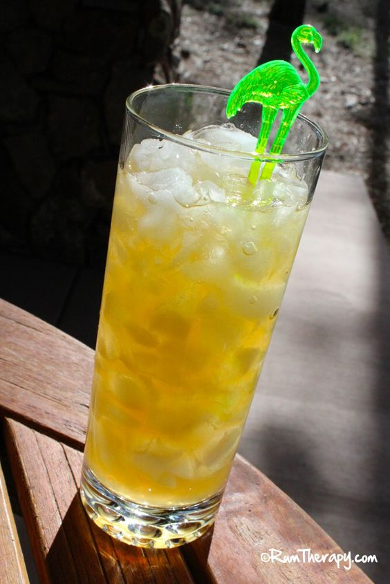 Eclipse 3/4 oz. Passion Fruit Juice 3 1/2 oz. Ginger Beer Mix over ice ...
