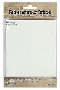 Tim Holtz 4.25 X 5.5 DISTRESS WATERCOLOR CARDSTOCK