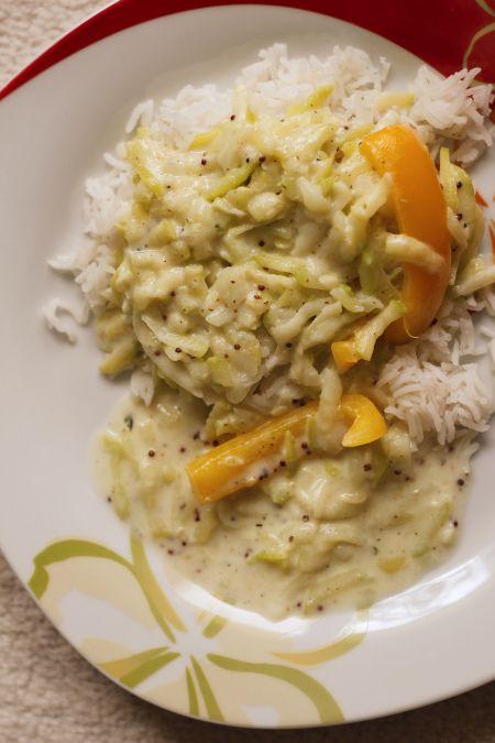 Zucchini-Paprika-Pfanne - ein leckeres und schnelles Abendessen. :)