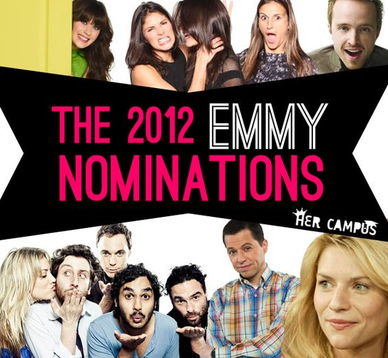 The 2012 Emmy Nominations