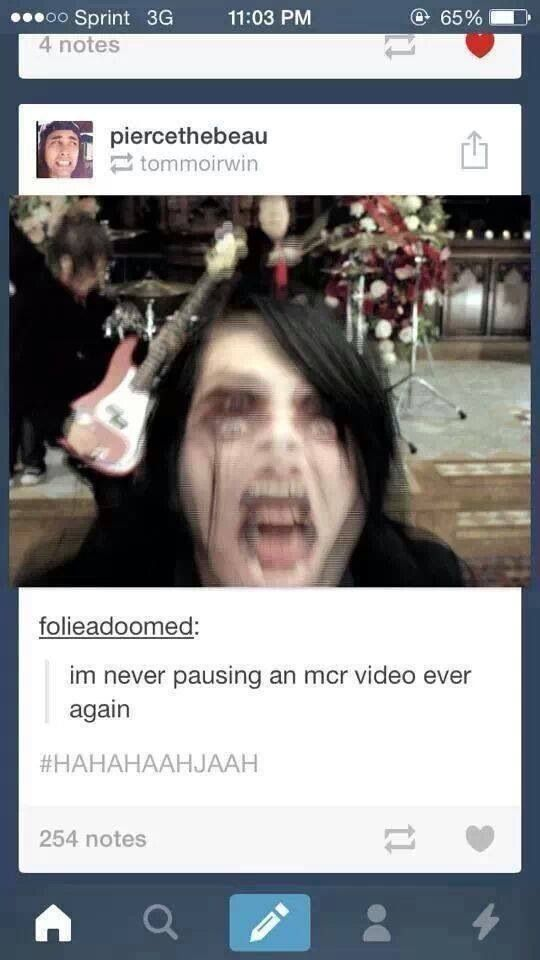 My Chemical Romance - That's TERRIFYING.