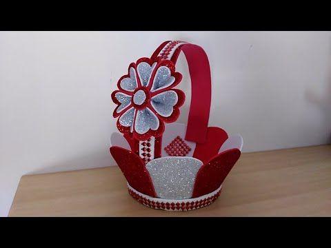عمل فني من الفوم بطريقة بسيطة جدا اعمال يدوية بورق الفوم Foam Sheet Craft Ideas Youtube Flower Diy Crafts Foam Crafts Foam Sheet Crafts