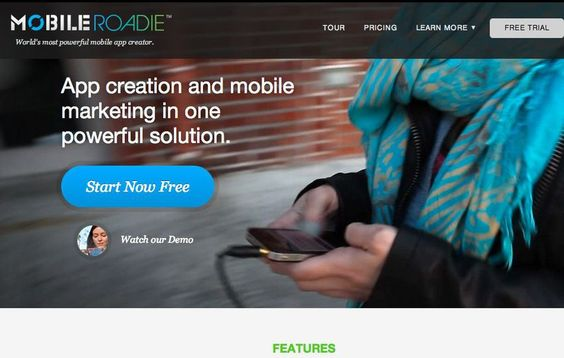 Mobile Roadie is an app creator that allows anyone to create and manage their…