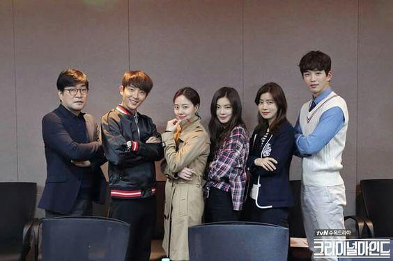 Criminal Minds Korean First Script Reading