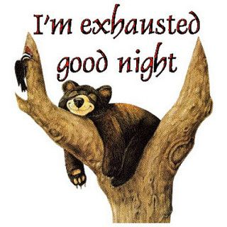 Good night everyone hope y'all have sweet dreams!