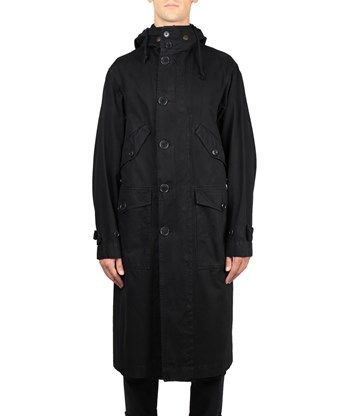 DRIES VAN NOTEN Parka Vaughn Cotone. #driesvannoten #cloth #cotone