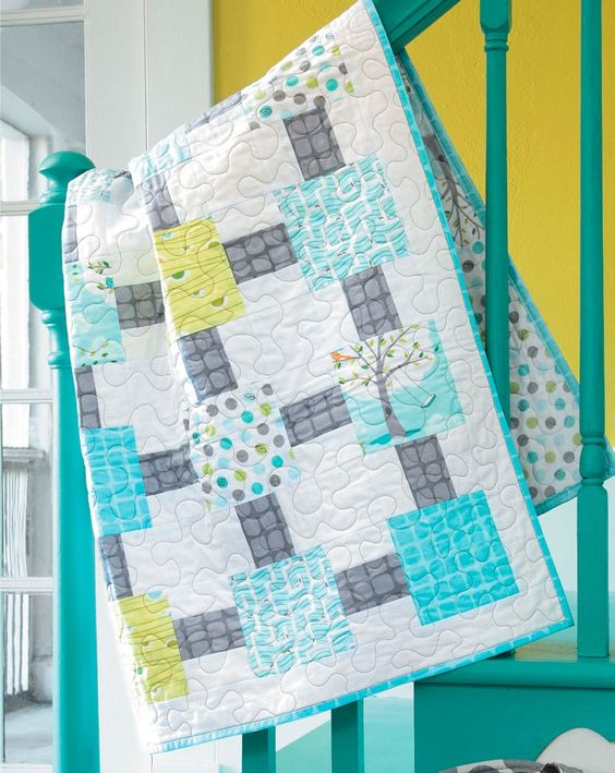 Pre-cut Quilts - Perfect for beginners, these six quilts by janie lou come together fast and easy with precut fabrics. The simple patterns all rely on charm packs, jelly rolls, and fat quarters to provide an assortment of fun prints in ready-to-sew squares, strips, and other pieces.  Projects include An Apple a Day, a wall quilt featuring a charm pack of 5-inch squares; Backyard Fun, a throw featuring fat quarters; Coming Home, a small quilt featuring jelly roll strips; Floating 8, a bed ...: