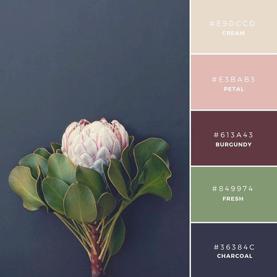 """Build Your Brand: 20 Unique and Memorable Color Palettes to Inspire You – """"Fall Collection"""" This palette has a traditional or antique tone to it. This is a great combination to represent a product that is a little more refined or mature."""