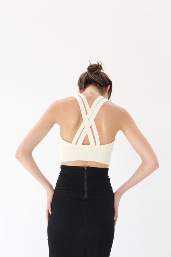 Diarte Iris Knit Top Cream