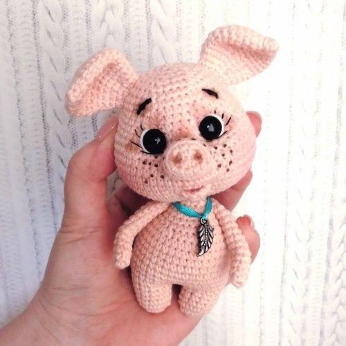 Crochet Animals Pig Amigurumi Crochet Tutorial - Part 2 - Craft ... | 500x500