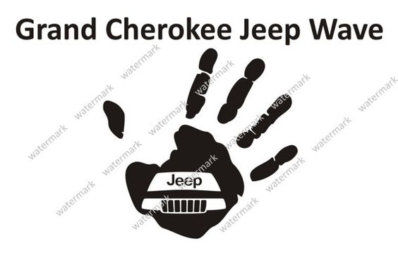 jeep grand cherokee logo jeep wave decal sticker by